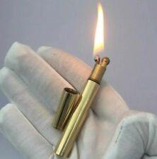 Slim Vintage Brass Lighter Cigar Cigarette Lighter Torch Kerosene Lighters