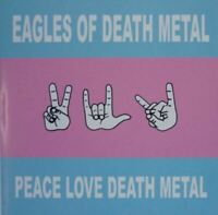 EAGLES OF DEATH METAL peace love death metal (CD, album) very good condition,