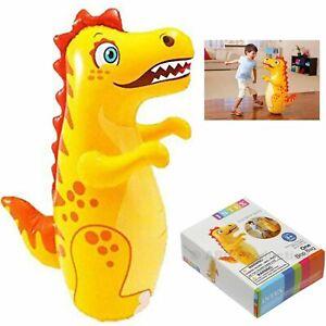 INTEX 3D Bop Bag Dinosaur - Inflatable Blow Up Punching Bag Toy Gift  Kids Fun