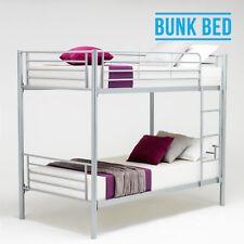 Bunk Bed Frame Twin Over Twin Metal Ladder Dorm Bedroom Home Furniture Kid Adult
