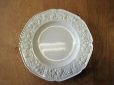 """Crown Ducal England FLORENTINE Off White Dinner Plate 10 1/2""""    3 available"""
