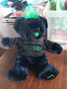 Alton Towers 13in Th13teen Bear Cuddly Toy Plush Rare 13 Thirteen