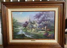 Thomas Kinkade, Clocktower Cottage Limited Edition Framed Print