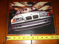 1999 BMW 3, 5, 7 Series and M Cars Sales Brochure / Poster