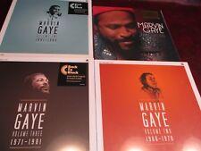 MARVIN GAYE COLLECTED 180 GRAM GOLD VINYL LOW #D 379/500 + BOX SETS 1 THRU 3 SET