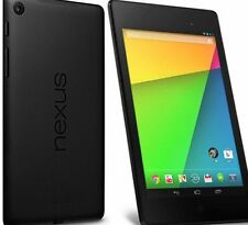 "Asus Google Nexus 7 16GB Wi-Fi 7"" Black Android Tablet 2nd Generation 2013"