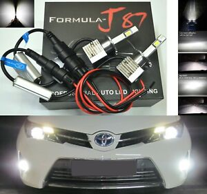 LED Kit S 100W D4S 6000K White Head Light Two Bulbs Retrofit Bi-Xenon Upgrade OE