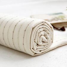 "Stripe Organic Cotton Knit Single Fabric by the Yard 60"" Wide MR Benzamin"