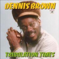 DENNIS BROWN - TRIBULATION TIMES  CD NEW!