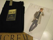 NWT AUTHENTIC J.Crew Men Black Bedford Cord 770 Fit Denim Jeans SZ 29 / 32