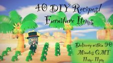 Animal Crossing New Horizons - Any 40 Furniture Items 🍃/ DIY Recipes 🛠