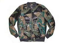 DIESEL J-FIPS GREEN CAMO JACKET SIZE L 100% AUTHENTIC