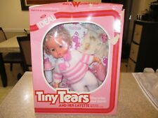 Vintage Doll 'Tiny Tears' and her Layette 1981 Ideal Toy Corporation