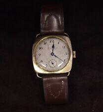 Rare Men 's watch Fix .Co Chronometer El Transit Madrid - Solid Gold 18k