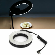 48 LED Ring Flash Light Photography For Canon For Nikon For Sigma Camera Len MR