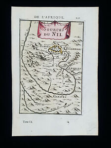 1683 A.M. MALLET: North Africa, Egypt, Nile, Cairo, Sudan, Suez Canal, Red Sea