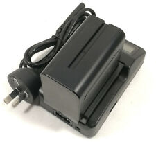 Single LCD Charger +2x7800mAh Battery For SonyNP-F970 NP-F960 NP-F750 Camcorder