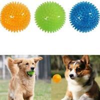 Flashing Light Pet Hedgehog Ball Creative Puppy Toy HOT Dog Supplies SALE E8O3