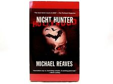 VG! Night Hunter by Michael Reaves. Paperback