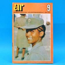 Armeerundschau 9-1981 NVA Volksarmee DDR Krusenstern ASV Ina-Maria Federowski O