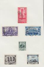 Mail in Wartime - Mounted Sheet Italy War Military Stamps