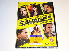 Savages: Extended Edition - Oliver Stone NEW / SEALED GENUINE UK (Region 2) DVD