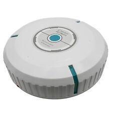 "9"" Wireless Home Robotic Smart Auto Robot Microfiber Tissue Dust Cleaner White"