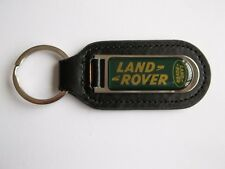 Land Rover Freelander Genuine Leather Keyring Keyfob Gold Green PDQ Motorsport