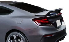 Factory SI Style 2-Post Painted Rear Spoiler Fits 2012-2015 Honda Civic SI Coupe