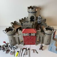 Playmobil Hawks Knight's King Castle 6001 (Missing 1 Flag and 1 Broken Part)