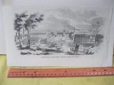Vintage Print,THE DUNNELL MFG CO,American Industry,19th Cent