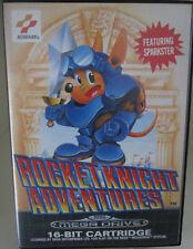 Rocket Knight Adventures (Sega Mega Drive) PAL OVP/Modul/Anleitung