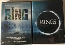The Ring (DVD, 2013) Rings Sequel Used Lot Of Two DVDs  Great Condition