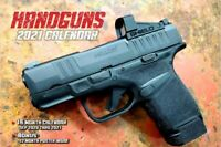 2021 HANDGUNS DELUXE WALL CALENDAR Featuring glock 19 Smith & Wesson hellcat