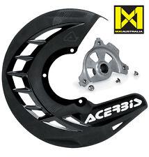 Acerbis X Brake Front Disc Cover & Mount KTM SX SXF 15-16 EXC EXCF 16 Black