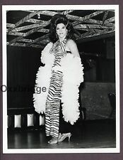 Gay Burlesque Male Stripper Drag Queen 1960 ORIGINal PHOTO Interest C353