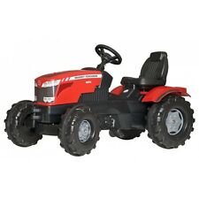 Rolly Toys Massey Ferguson 8650 Traktor ohne Frontlader Trettraktor rot