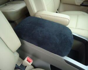 Auto Armrest Cover For Center Console (Console Lid Cover) USA Made U4BLACK