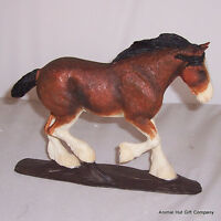 Border Fine Arts Action Horses Clydesdale Horse Bay A21272