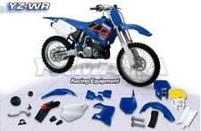 Yamaha YZ 125 250 (02-10) Radiator Scoops BLUE NEW