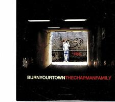 (EI61) The Chapman Family, Burn Your Town - 2010 DJ CD