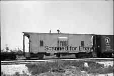 ORIGINAL PHOTO NEGATIVE-Railroad Florida East Coast #804 Caboose June 1967