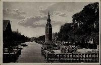 Amsterdam AK Holland Nederland ~1930/40 Montelbaanstoren en Oude Schans Turm
