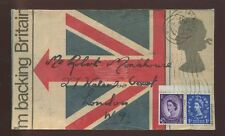 GB QE2 WILDING BACKING BRITAIN 1968 ILLUSTRATED UNION FLAG