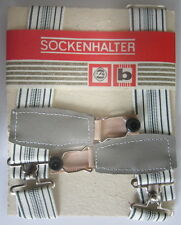 DDR Sockenhalter aus Gummi unbenutzt