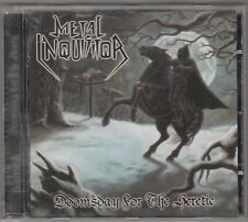 METAL INQUISITOR - doomsday for the heretic CD