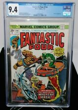 MARVEL - FANTASTIC FOUR - 154 - CGC 9.4 - NICK FURY APPEARANCE - WHITE PAGES