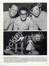 Buddy Holly & The Crickets Oh Boy! Cliff Richard book photo 1958 TAM3