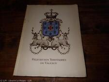 1948.Un siècle d'apostolat en Afrique.Religieuses trinitaires de Valence.