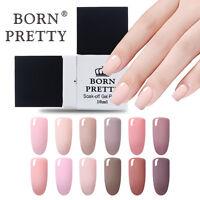 10ml Born Pretty UV Gel Polish Nail Art Soak off UV Gel Builder Varnish 12Colors